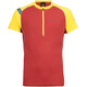 La Sportiva Advance Running T-shirt Men yellow/red